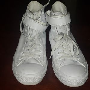 Women's leather all star converse. 10W 8.5Mens